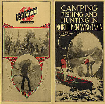 Chicago and North Western Historical Society - Cover for North Wisconsin Camping Fishing and Hunting Guide