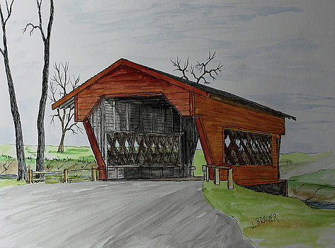 Covered Bridge   170208 by Jack G Brauer