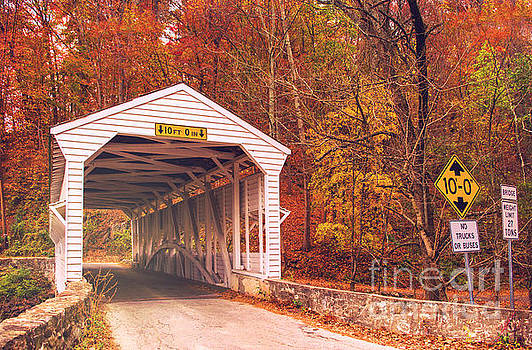 Rima Biswas - Covered bridge at Valley Forge