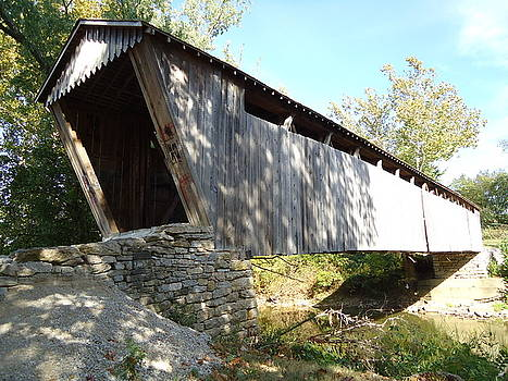 Covered Bridge by Arlene Cooper