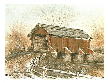 Covered Bridge by Charles Roy Smith