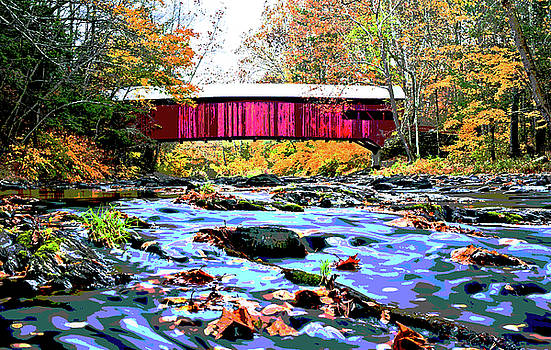 Covered Bridge by Charles Shoup