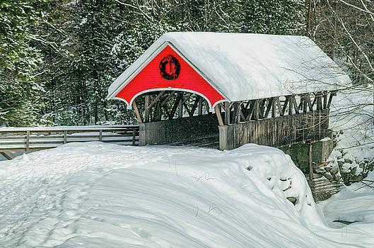 Tony Crehan - Covered Bridge - Flume Gorge - Lincoln - New Hampshire - USA