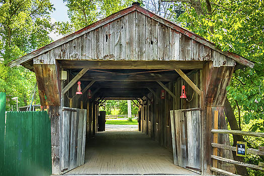 Covered Bridge HDR by Ronald Hoehn