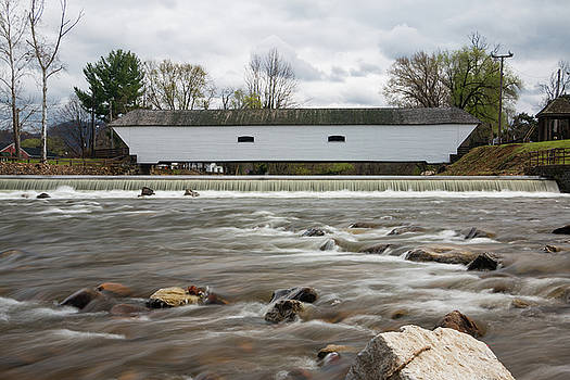 Covered Bridge in March II by Jeff Severson
