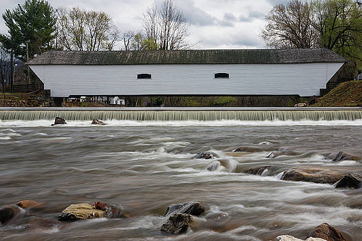 Covered Bridge in March by Jeff Severson