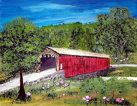 Covered Bridge by Lorraine Louwerse