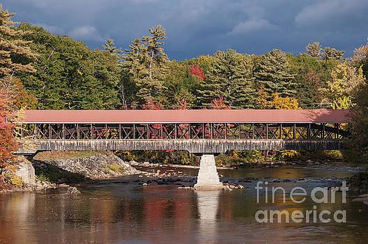 Bob Phillips - Covered Bridge over the Seco River