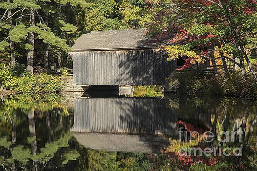 Bob Phillips - Covered Bridge Reflection
