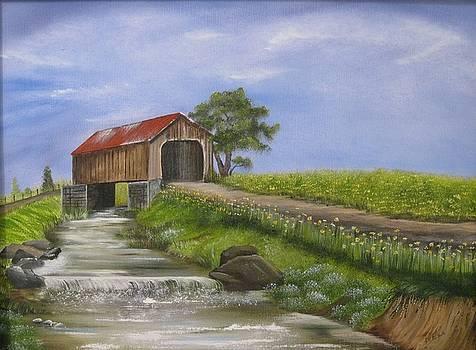 Covered Bridge by RJ McNall