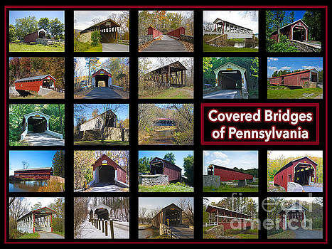 Covered Bridges Of Pennsylvania by Lori Amway