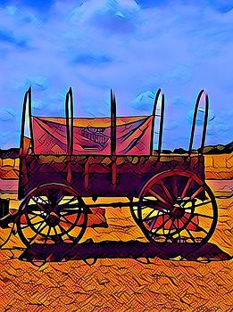 Covered Wagon by Patricia Rex