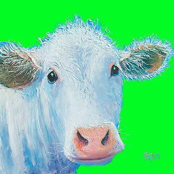 Jan Matson - Cow Art - Charolais