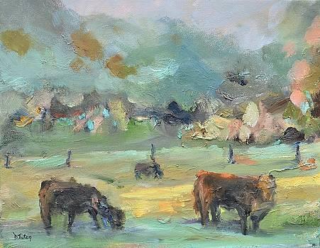 Cow Pasture by Donna Tuten