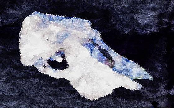 Ronda Broatch - Cow Skull 3