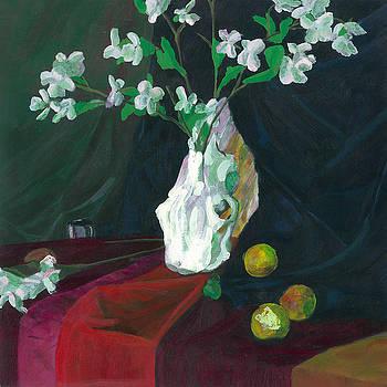 Cow Skull in Green Light by Sean Koziel
