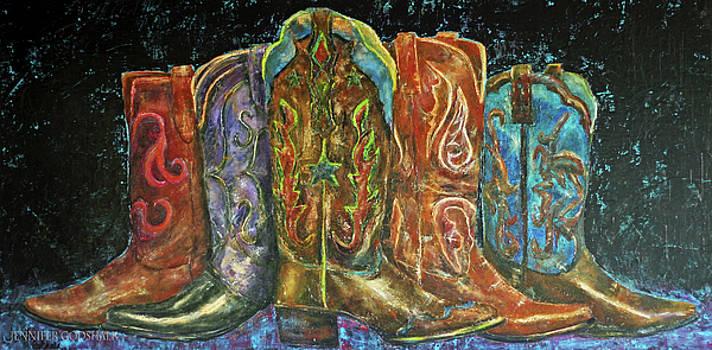 Cowboy Boots by Jennifer Godshalk