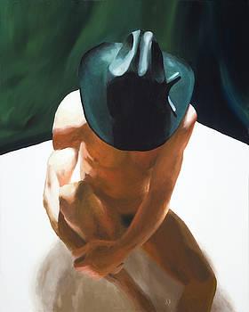 Cowboy Figure by Stephen Janton