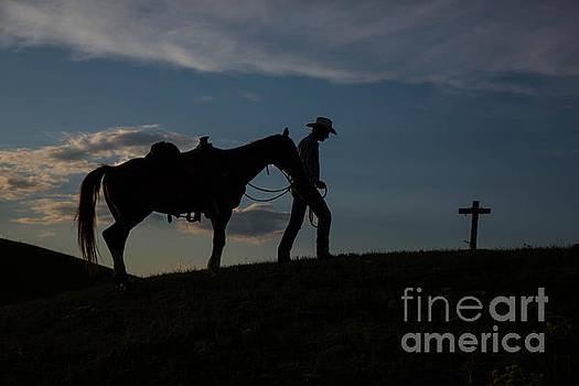 Cowboy Goodbye 1 by Danny Nestor