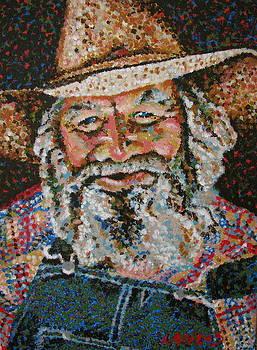 Cowboy II by Denise Landis