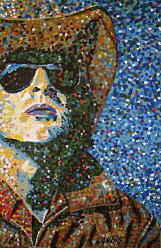 Cowboy III by Denise Landis
