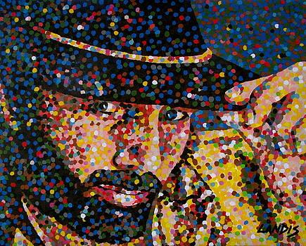 Cowboy IV by Denise Landis