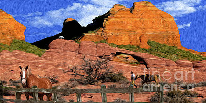 Cowboy Sedona Ver3 by Larry Mulvehill