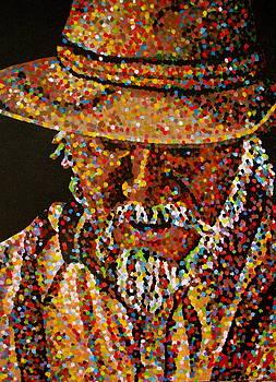 Cowboy VI by Denise Landis