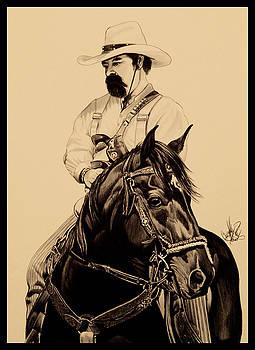 Cowboys, smoke and guns by Cheryl Poland
