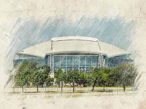 Ricky Barnard - Cowboys Stadium