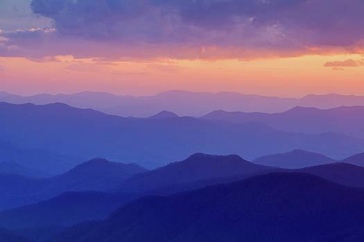 Cowee Mountains 12 by Derek Thornton