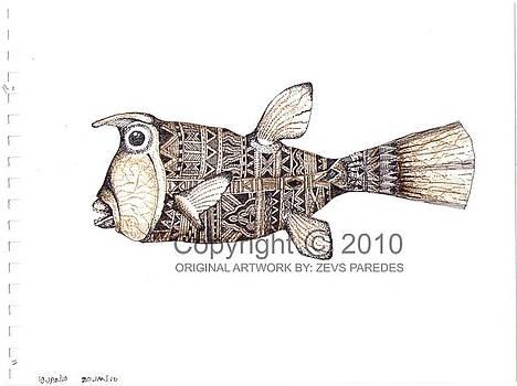 Cowfish 1  by Zeus Paredes