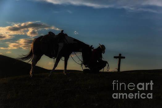 Cowgirl Goodbye 1 by Danny Nestor