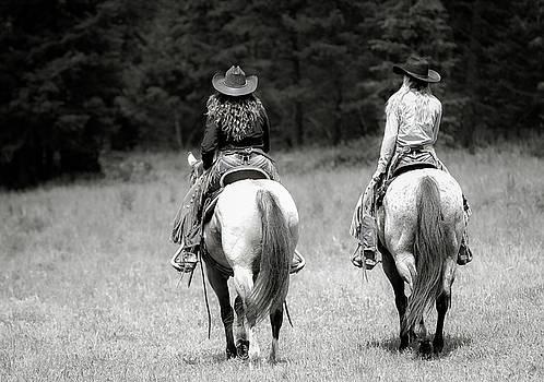 Cowgirls Ride by Athena Mckinzie