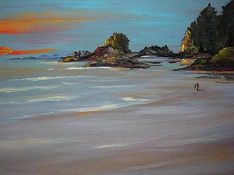 Cox Bay, Tofino, Pacific Rim Park, B. C. by Catherine Robertson