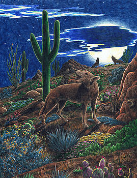 Coyote Moon by Theresa Higby
