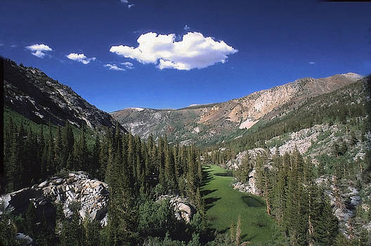 Coyote Ridge Above Parchers Camp by Larry Darnell