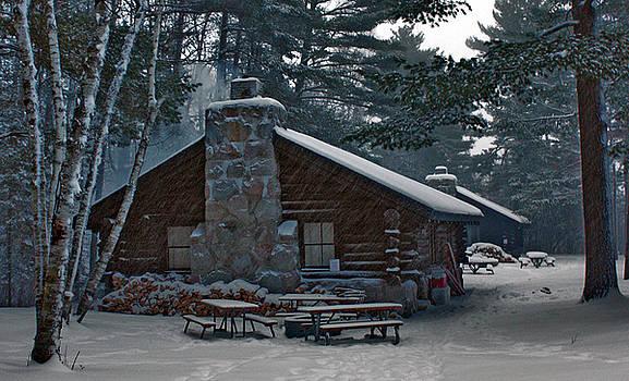 Cozy Cabin by Scott Heister