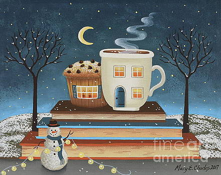 Cozy Cafe by Mary Charles