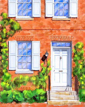 Cozy Rowhouse Style by Mark Tisdale