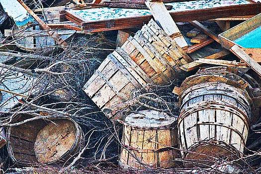 Crab Basket Dump by Sheryl Bergman