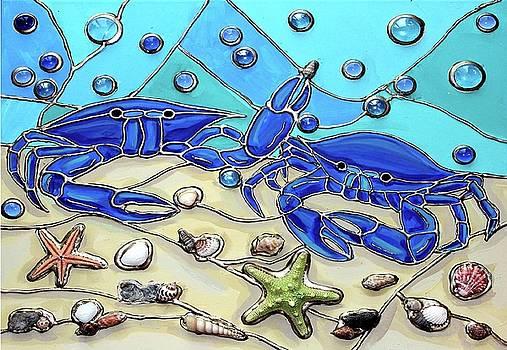 Crab Conversation by Cynthia Snyder