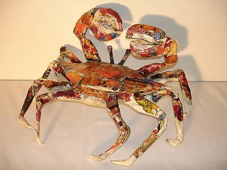 Crab by Silvia Gold