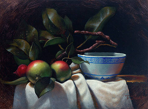 Crabapples and Rice Bowl by Timothy Jones