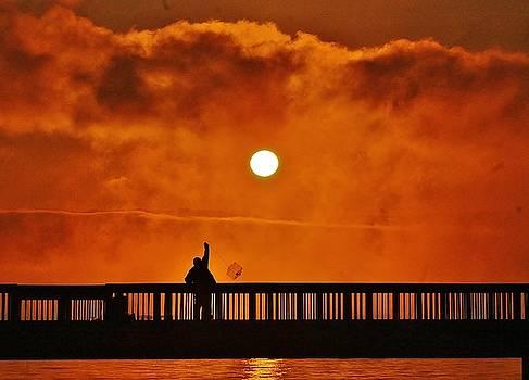 Crabbing at Sunrise by Thomas McGuire