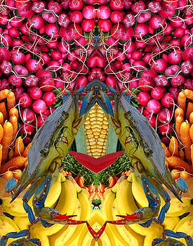Crabs and Radishes by Bruce Wood