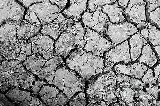 Cracked Clay Ground by Pongsak Deethongngam