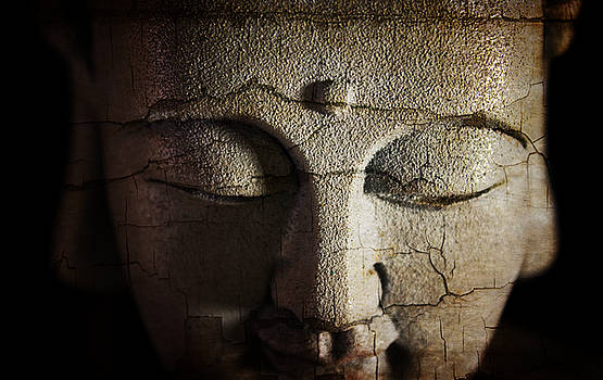 Ray Van Gundy - Cracked Face of Buddha