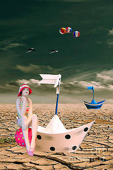 Cracked II - The Bathing Beauty by Chris Armytage