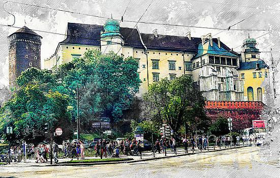 Justyna Jaszke JBJart - Cracow art 2 Wawel